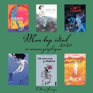 Top 6 de romans graphiques pour l'année 2020 :