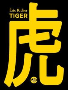 Lecture d'extraits du roman Tiger d'Eric Richer aux éditions de l'Ogre