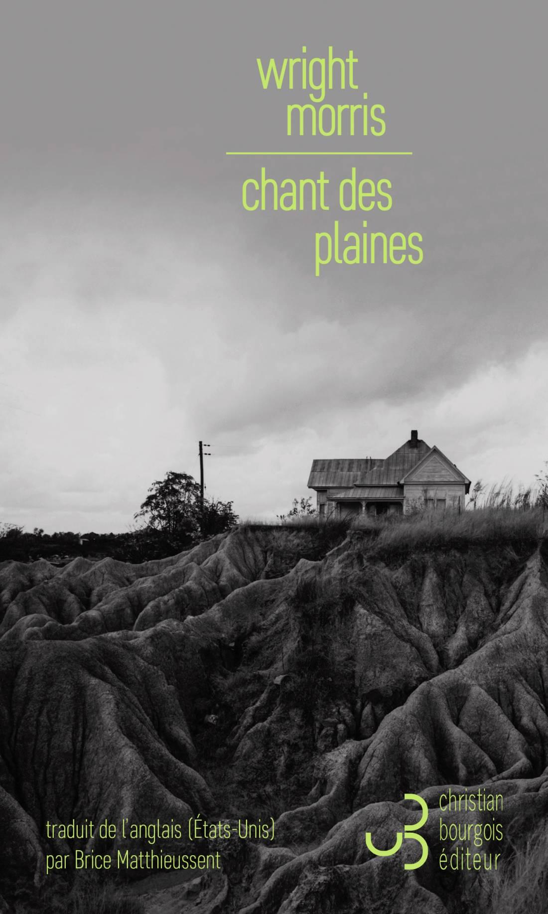 Lecture d'un extrait du roman Chant des plaines de Wright Morris aux éditions Christian Bourgois