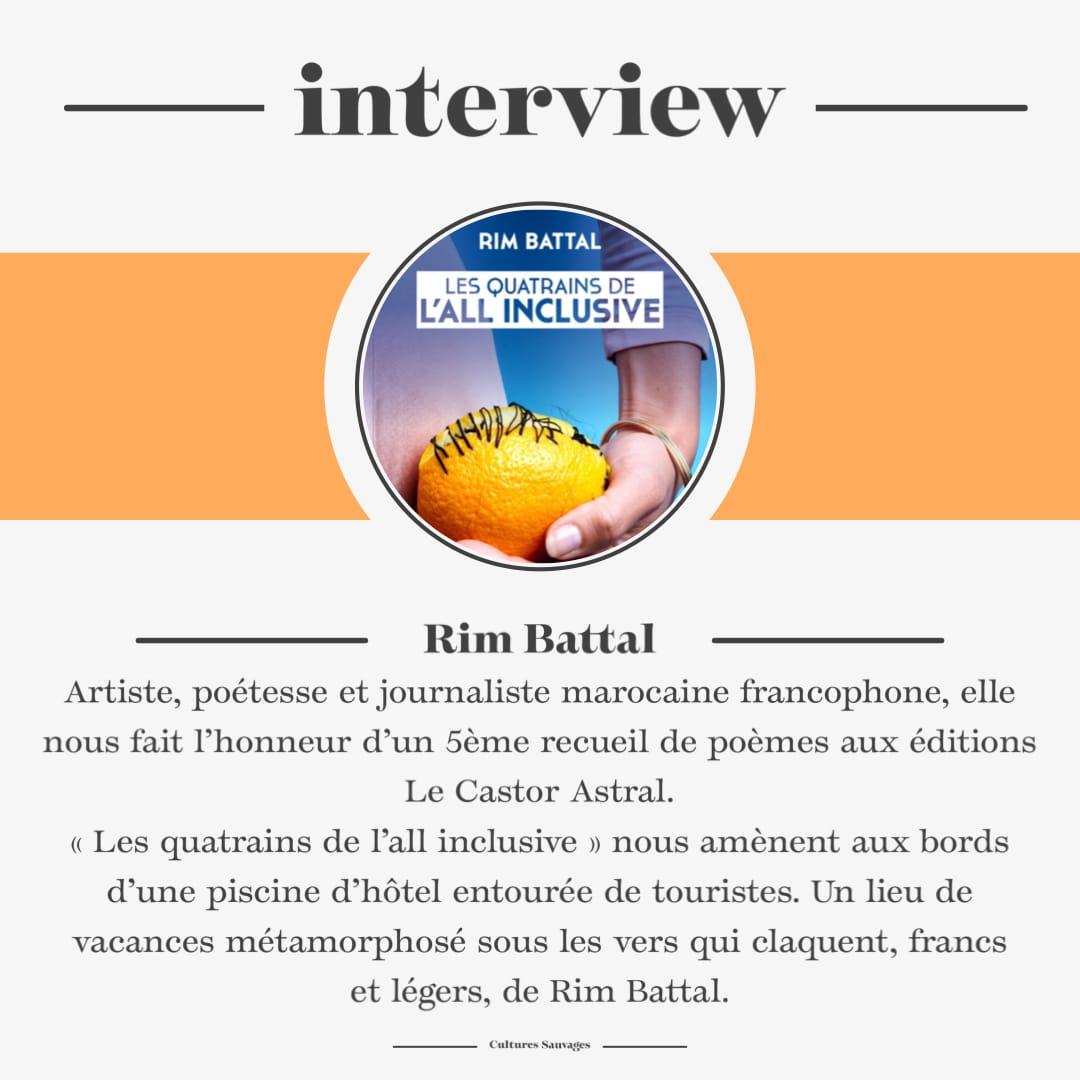 Interview de Rim Battal