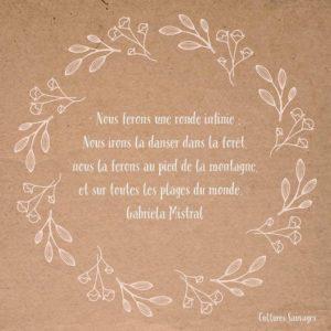[Paroles de poétesses] : Gabriela Mistral