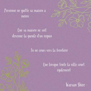 [Paroles de poétesses] : Warsan Shire