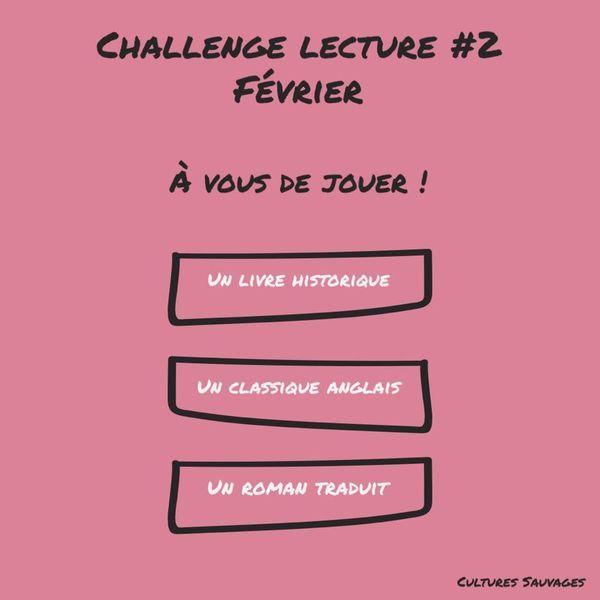 [Challenges lecture] : Février 2021