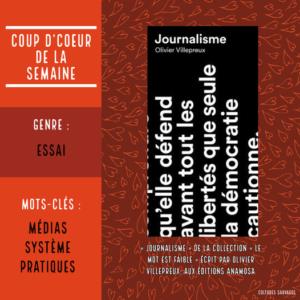 «Journalisme» d'Olivier Villepreux