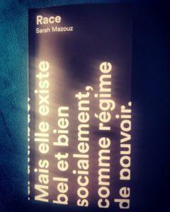 «Race» de Sarah Mazouz