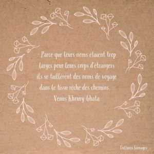 [Paroles de poétesses] : Vénus Khoury-Ghata