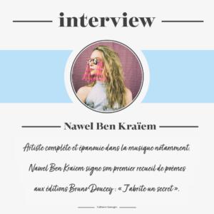 Interview de la poétesse Nawel Ben Kraïem