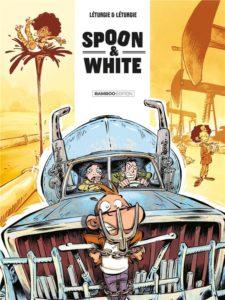 «Road'n'trip» tome 9 de Spoon & White, de Léturgie et Léturgie